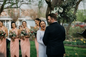 fun wedding ceremony captured by who shot the photographertured by captured by who